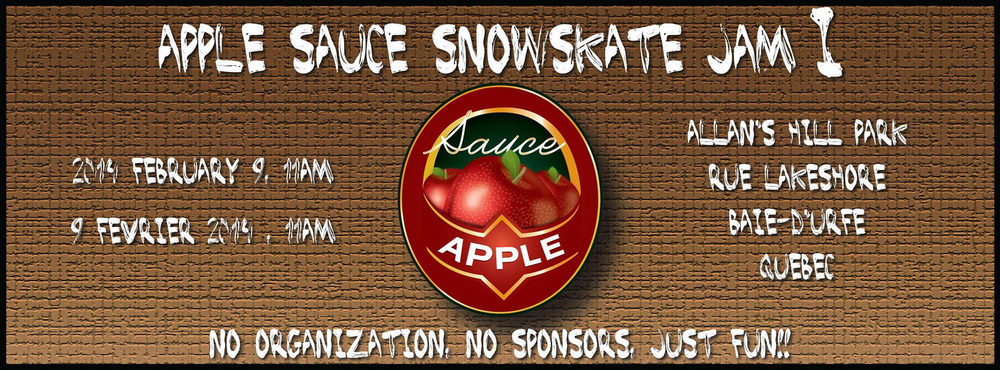 Apple Sauce Snowskate Jam1
