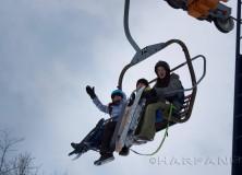 Faire du snowskate pour pas cher au Québec! Snowskating for cheap in Quebec!